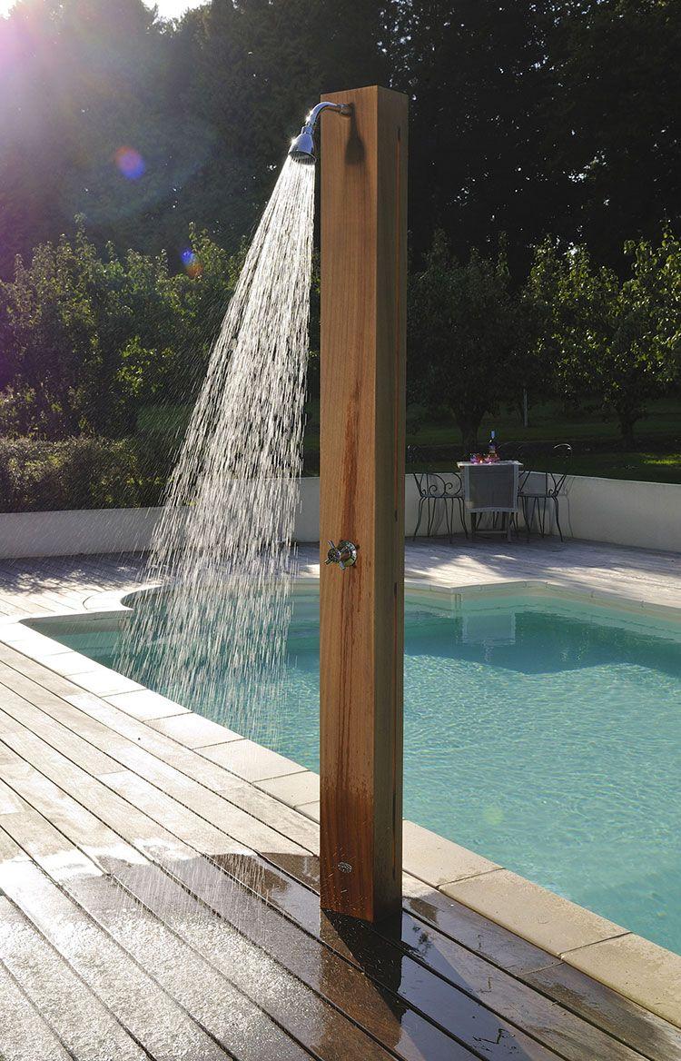 Vendita docce solari per piscine