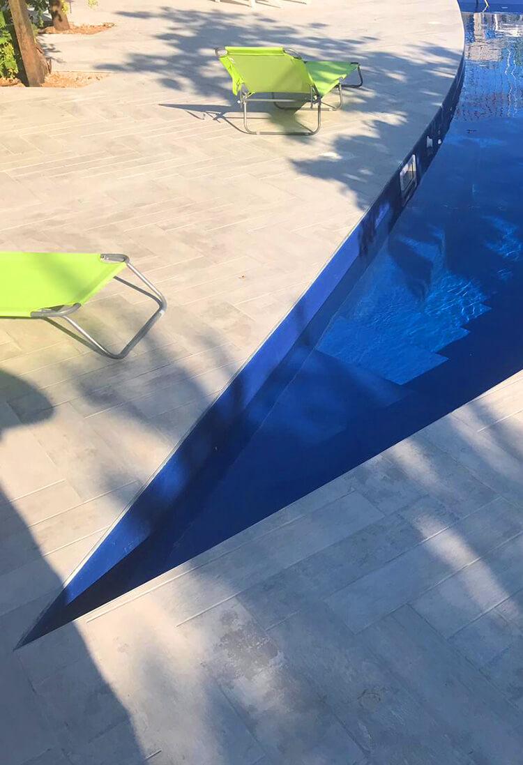 Costruzione piscine interrate in cemento armato a Napoli